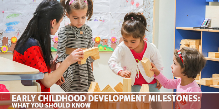 Early Childhood Development Milestones - What You Should Know