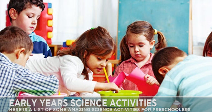 Early Years Science Activities