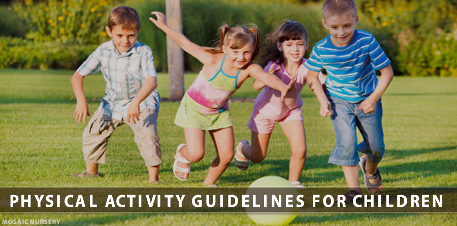 Physical Activity Guidelines For Children (Under 5 Years)